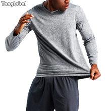 2021 мужские модные черные велосипедные футболки для бега сжатия