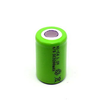 100%New 4/5 SC 1.2V rechargeable battery 3200mAh 4/5 SC Ni-CD battery no tabs, suitable for electric tools LED image