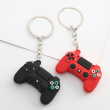 Cartoon Video Game Handle Keychain Joystick Model Keychains Boyfriend Key Ring Pendant Trinket Accessories Men Gift Key Chain