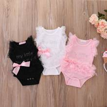 Toddler Girls Casual Dresses Infant Baby Girl Princess Party Wedding Tutu Lace Flower Dress New 2020 Dropshipping(China)