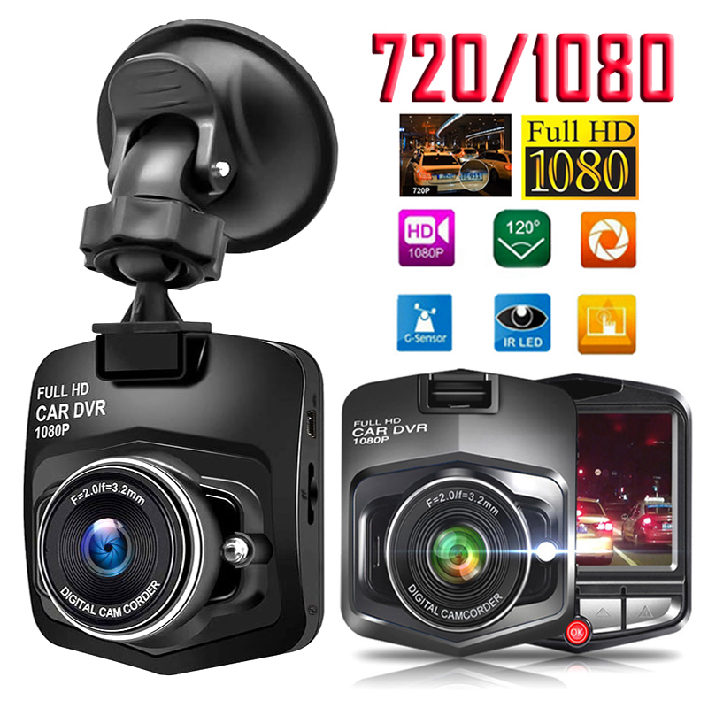 Video Recorder Car Dvr Dash Cam Dashcam 2.4 Inch 1080 Dash Camera DVR Mini Night Vision Video Registrator  G-sensor WDR 1