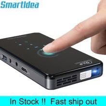 Smartidea X2 hdハンドヘルドdlpプロジェクターのandroid 7.1 wifi bluetooth 4.1 ピコポケットproyector hdポータブルビーマーmiracastエアプレイ