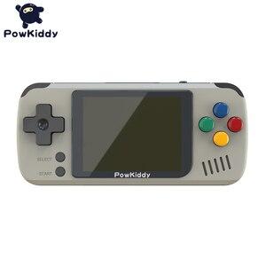 Image 5 - Powkiddy Q70 açık sistem Video oyunu konsolu Retro el, 2.4 inç ekran taşınabilir çocuk oyun oyuncuları 16GB hafıza kartı