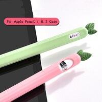 Weiche Silikon Fall Für Apple Bleistift 2 Tablet Stylus Touch Pen Nib Für iPad Stift Stylus Schutzhülle Fall