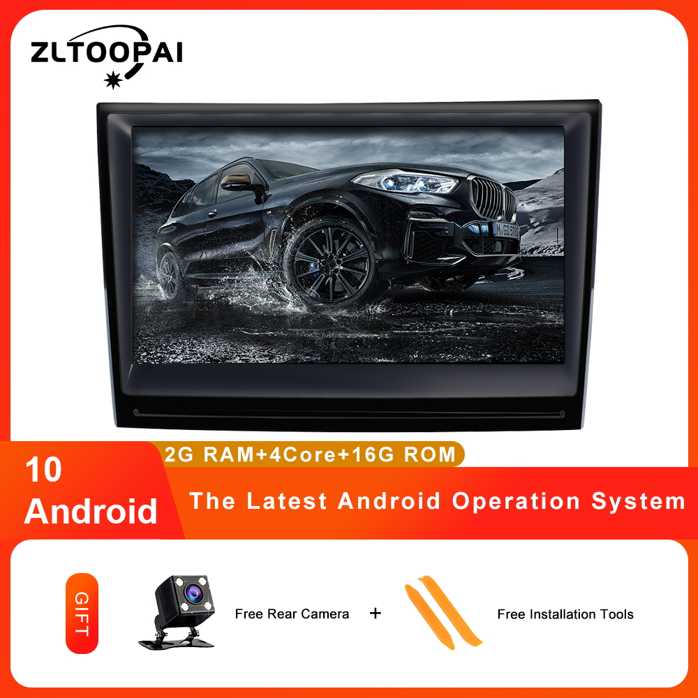ZLTOOPAI Android 10 Car radio Multimedia player for Porsche 911/997/Cayman/Boxter 2 Din Head Unit GPS Navigation Stereo IPS SWC