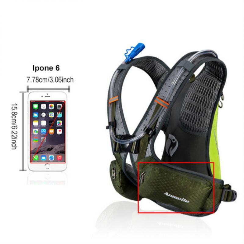 Image 3 - ランニング和のバックパック、防水 5L キャンプ膀胱ウォーターバッグ、通気性スポーツ hydrator サイクリングハイキングバックパック水筒類   -