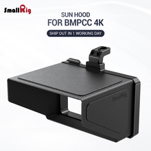 SmallRig BMPCC 4K Camera Sun Hood for BMPCC 4K & 6K Blackmagic Design Pocket Cinema Camera 4K & 6K VH2299 tilta wooden handle side handles hangrip for blackmagic cinema camera bmcc rig dhl free shipping