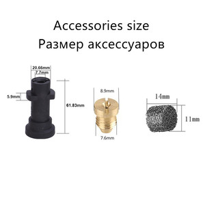 Image 5 - HNYRI Pressure Gun Snow Foam Generator Nozzle Spray for Karcher K2 K3 K4 K5 K6 K7 Professional Cannon Soap Lance Washer Tools1L