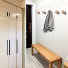 Wall-Mounted Wooden ...