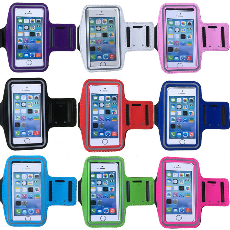 Waterproof 5.5 Inch Gym Running Phone Bag Arm Band Case For IPhone Cell Phone Outdoor Sports Cycling Phone Holder Armband Case