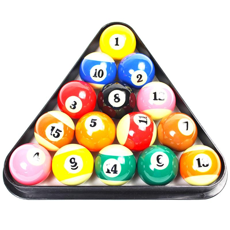 Billiards 9 Ball Pool Table Triangle Rack Heavy Duty Black Plastic Sturdy and Cost-Effective