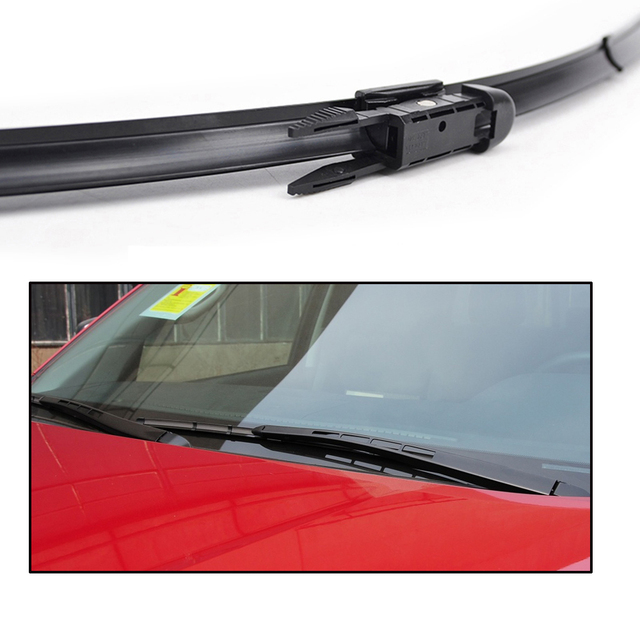 """Xukey Windshield Wiper Blades For Toyota Tundra Sequoia Front Window 2008 2009 2010 2011 2012 2013 2015 2016 2017 2018 26""""23"""""""