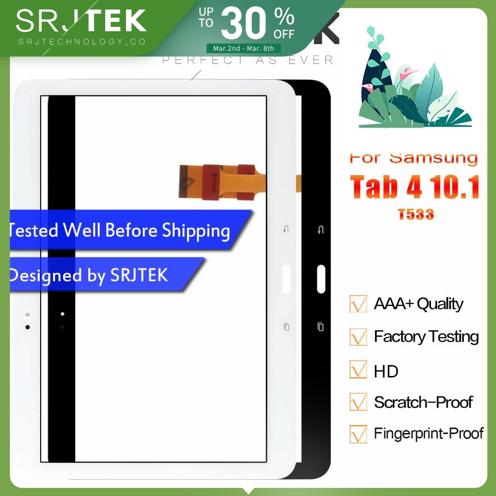 Srjtek For Samsung Galaxy Tab 4 10.1 2015 T533 SM-T533 Touch Panel Touch Screen Digitizer Glass Panels Tablet Replacement Parts