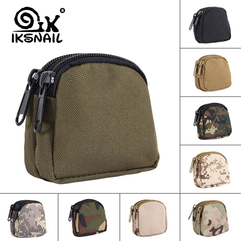 IKSNAIL Molle Pouch Camping Pouches Tactical Waist Bag Functional Bag Military Key Coin Sport Bag Purses Mulity Pouch Organizer