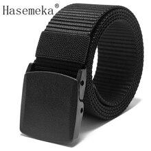 New Automatic Buckle Nylon Belt Male Army Tactical Belt Mens Military Waist Canvas Belts Cummerbunds High Quality Strap