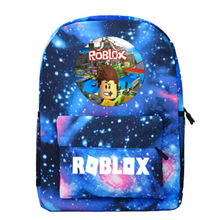 2019 Robloxer game casual backpack for teenagers Kids Student School Bags Unisex Laptop Bags  travel Shoulder Bag недорого
