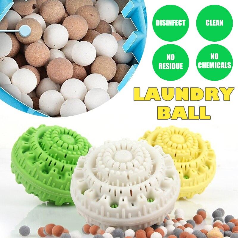 Шарик для стирки из термопластичной резины, наноразмерный керамики практичный бытовой уборки стиральная машина одежда многоразовые моющие шарики для стирк