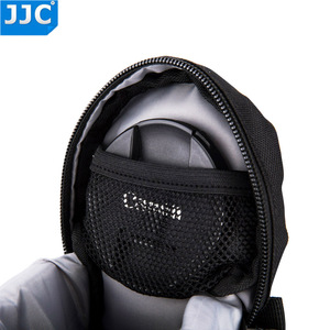 Image 5 - JJC DLP 1 Lens Pouch Nylon Deluxe Case Water resistant Protector Bag For Nikon AF S Nikkor 50mm 1:1.8G/Fujifilm XF 23mm f/1.4 R