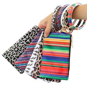 Лидер продаж, 1 шт., многофункциональный кошелек для телефона из искусственной кожи, женские кольца для ключей, клатч, браслет, браслеты, цепочка для ключей, рождественские подарки