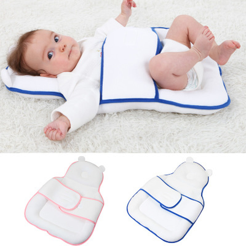 Multifunctional Toddler Newborn Baby Pillow Baby Stereotype Pillow Baby Sleeping Pad Portable Travel Sleeping Pad Baby Bedding