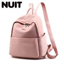 Fashion Nylon Backpack Bagpack For Teenage Girls Women Korean Style School Bags Backpacks For Teenagers Back Pack Bookbags