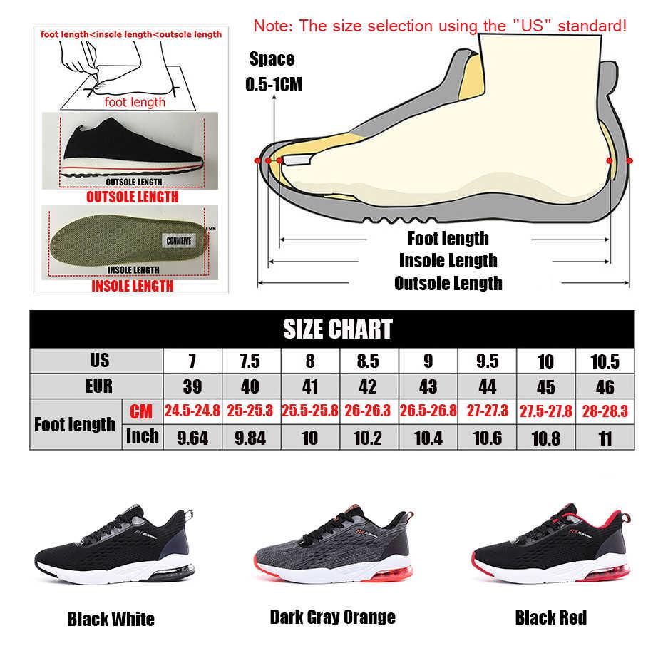 Легкие Нескользящие беговые кроссовки на шнуровке, износостойкие кроссовки для бега, Спортивная мужская обувь, дышащие мужские кроссовки