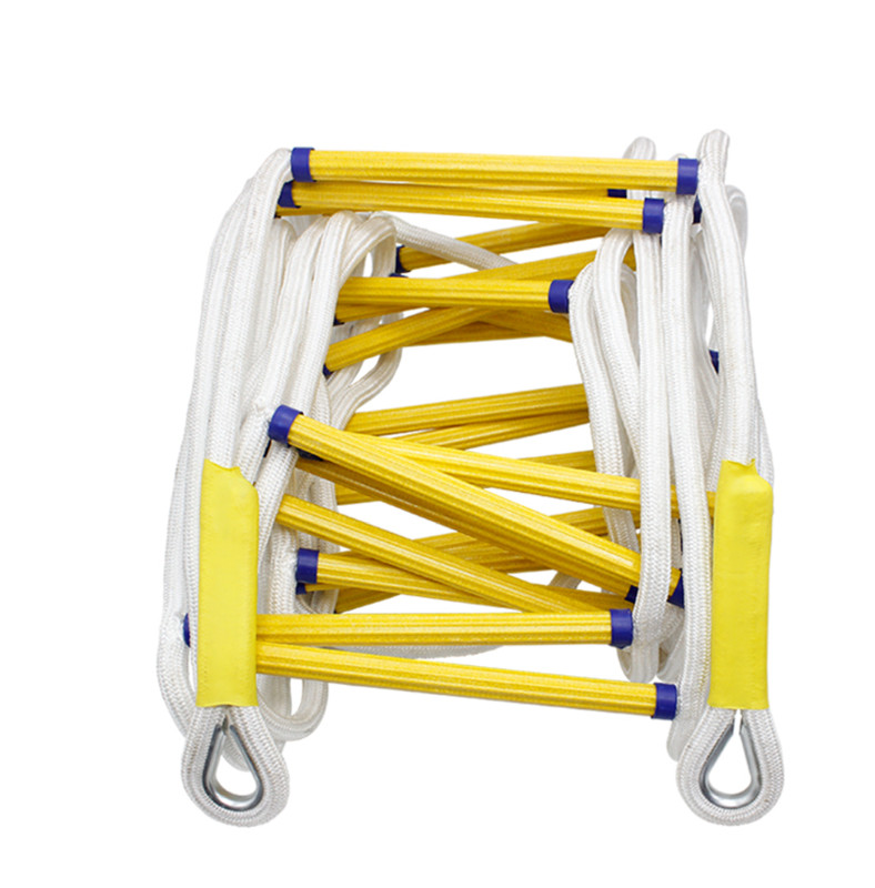 15M Rescue Rope Fire Escape Ladder Emergency Work Safety Response Fire Rescue Rock Climbing Aerial Work Rescue