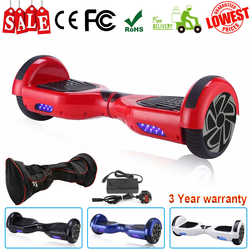 Patinete Eletrico Hoverboards Self Balance Kick Gyroscoot Skateboard Oxboard Electric Hoverboard 6.5 Inch Two Wheels Hover Board