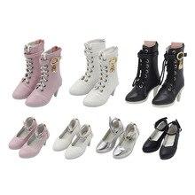 1/3 7,8 см Тканевая обувь для кукол bjd с пятью различными цветами для подходящего шарнирного тела