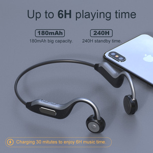 Image 4 - GGMM Headphones Bluetooth 5.0 Bone Conduction Wireless Headset Built in 8G Memory Card IPX67 Waterproof HD Mic Sports Earphones