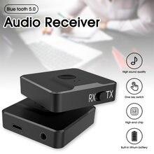 Bluetooth 50 передатчик и приемник аудио 2 в 1 bluetooth Беспроводной
