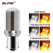 1 pces 1156 ba15s t20 led p21w w21w py21w led canbus lâmpadas sem luzes flash hiper auto carro sinal de volta luzes estacionamento 3014 144smd