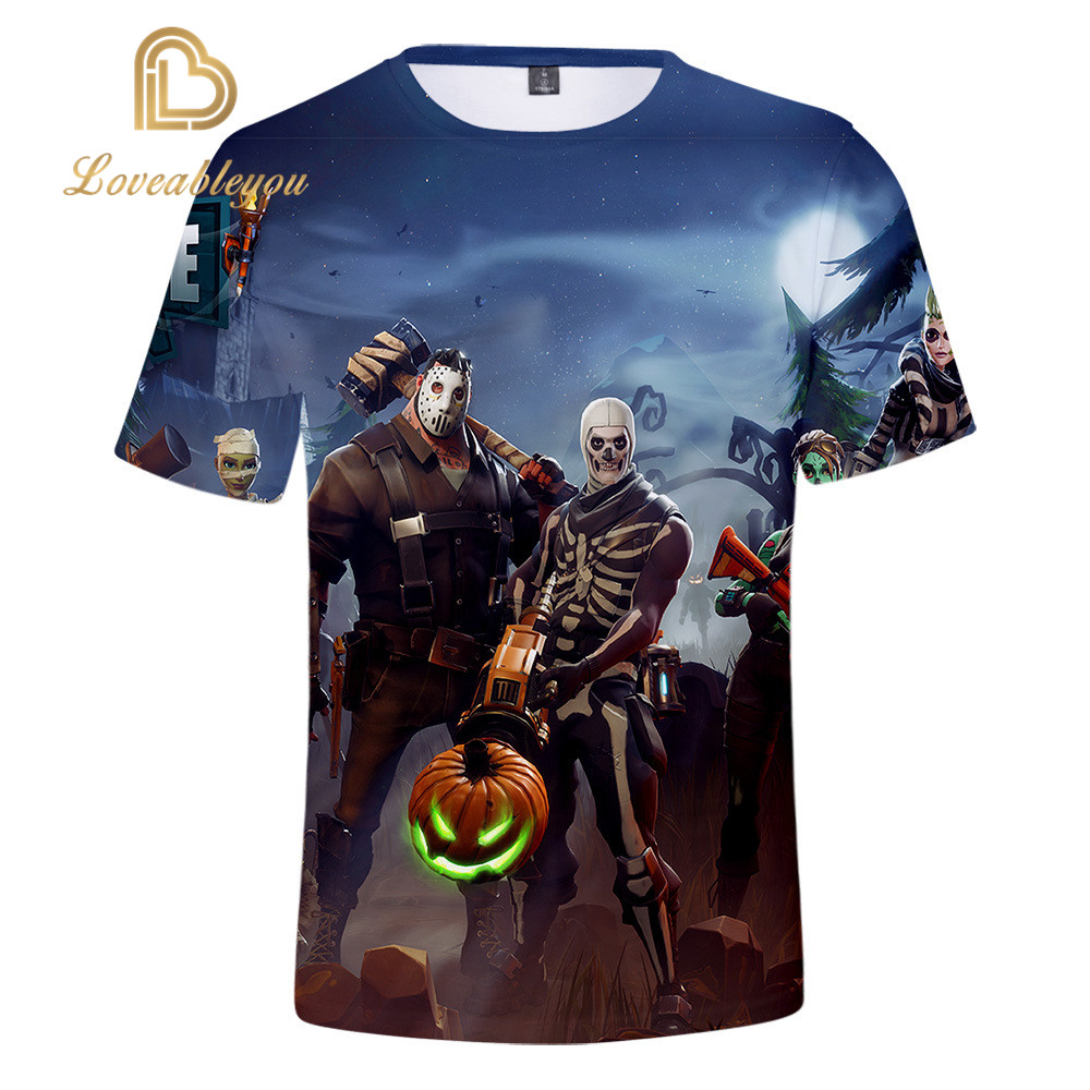 Men T-shirt Children 110-160 3d Printed T Shirt Homme Unisex Casual Short Shirt Cosplay Tshirt Gaming Boy Funny T Shirts 2