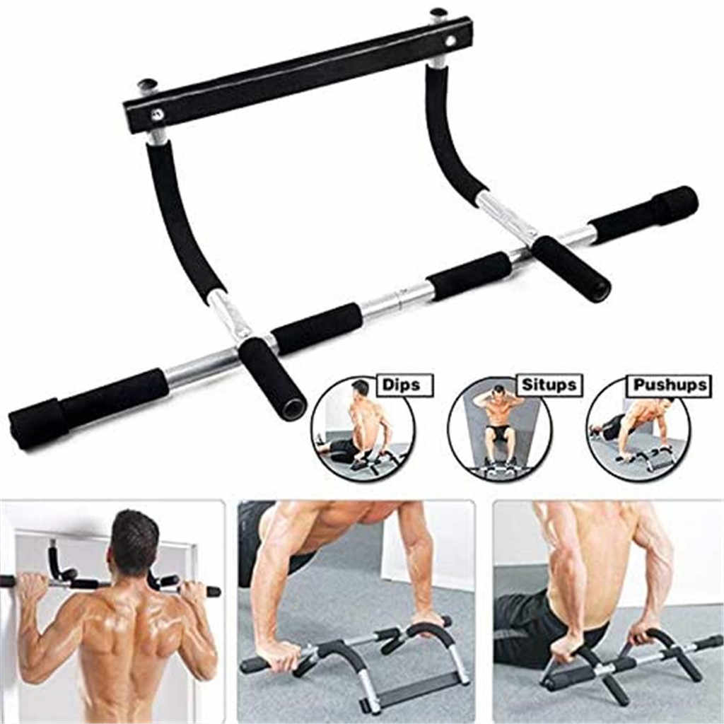 Details about  /Sit Up Bar Doorway Barbell Home Equipment Exercise Gym Fitness Muscle Workout