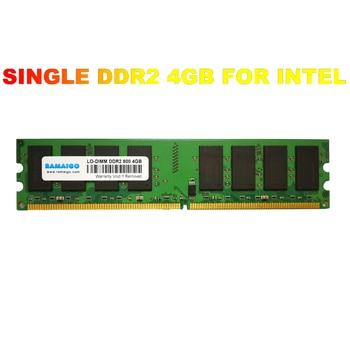 RAMAIGO DDR2 4GB 8GB 800MHZ 667MHZ PC6400 PC Deskop RAM memory Single DDR2 4GB PC ram for Intel AMD motherboards