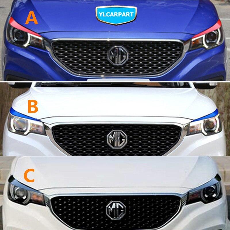 For MG ZS,Car Headlight Eyebrow Sticker