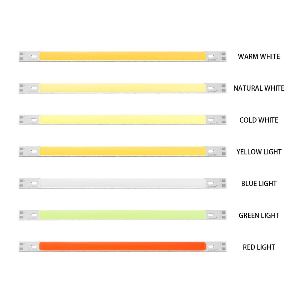 12V-14V 10W LED Light Strip 200*10mm Module Seven Lighting Colors Optional  COB Lamp Bar DIY  Kit
