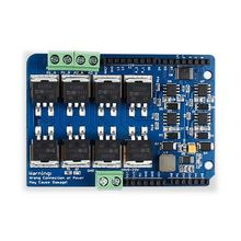 Elecrow duplo canal h ponte motor Shield V1.5 driver irf3205s mosfet dc motor 8a 22 v kit eletrônico diy