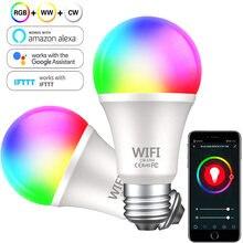 Умная светодиодсветильник Лампа 15 Вт b22 e27 с wi fi лампа