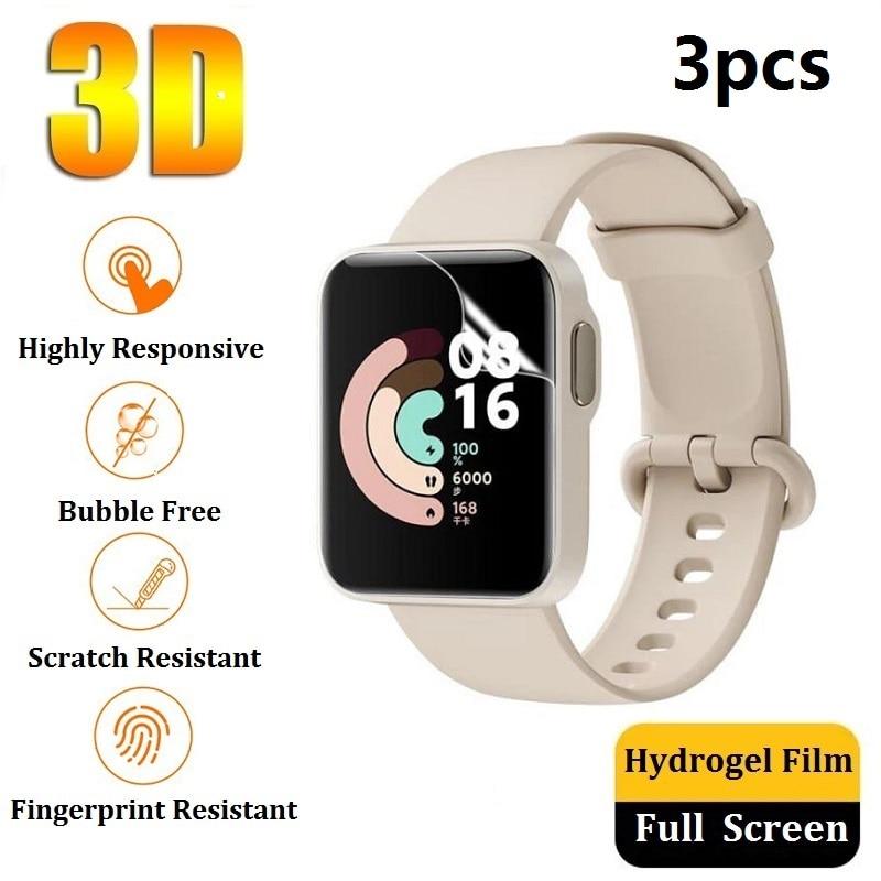 Защитная пленка для экрана для Xiaomi Mi Watch Lite / Redmi Watch (не стекло), Гидрогелевая Защитная пленка (не стекло) для Xiaomi Mi Watch Lite / Redmi Watch пленка из фольги