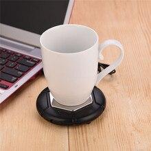 Портативный Электрический подогреватель кружки бытовой чай кофе грелка офис USB чашки подогреватель напитков вода молоко грелка 40-80 градусов 31