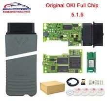 OKI Chip completo Original 5054A, herramienta de diagnóstico con Bluetooth AMB2300, 5054A, V5.1.6, con Keygen 6154, WIFI UDS, para Grupo V, 6154a