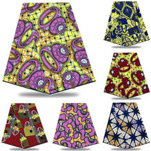 Wholesale price! Best Quality!! Veritable Dutch Real dutch Wax ,African Printed Fabric 100% Cotton Nigeria XYS348(China)