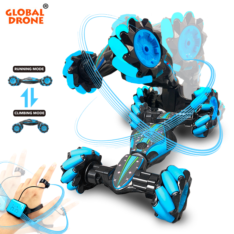 Gesture Control Car Stunt Car Gesto Remote Control Car Electric <font><b>Drift</b></font> <font><b>RC</b></font> Cars Toys Radio-Controlled Machine on the Control Panel image
