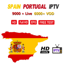 Best Spain IPTV ES M3U for Android TV Box spain 9000+ Live Europe France Arabic Africa Morocco football Smart IP