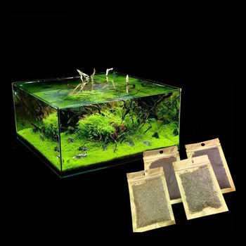 Aquatic Plant Seeds Landscaping Fish Tank Decoration Aquatic Plant Seeds  Mini-leaf Plants Aquarium Accessories