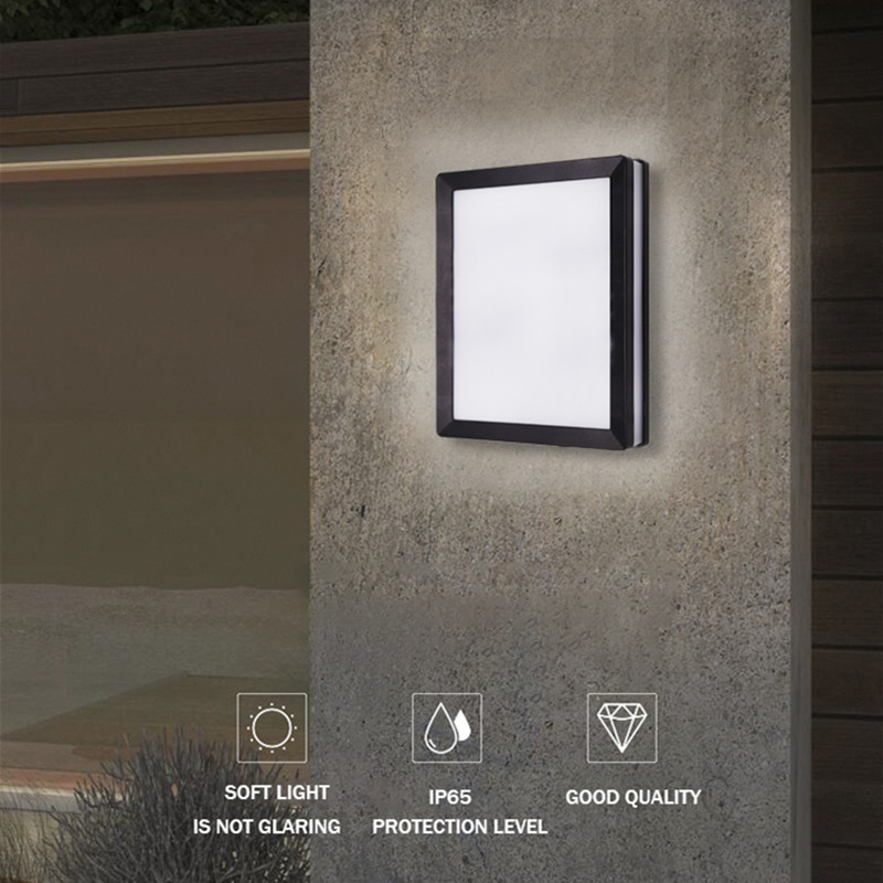 Nordic Wall Lamp Ip65 Led Plastic Outdoor Indoor New Design Wall Lights Modern For Home Stairs Bedroom Bedside Bathroom Lighting