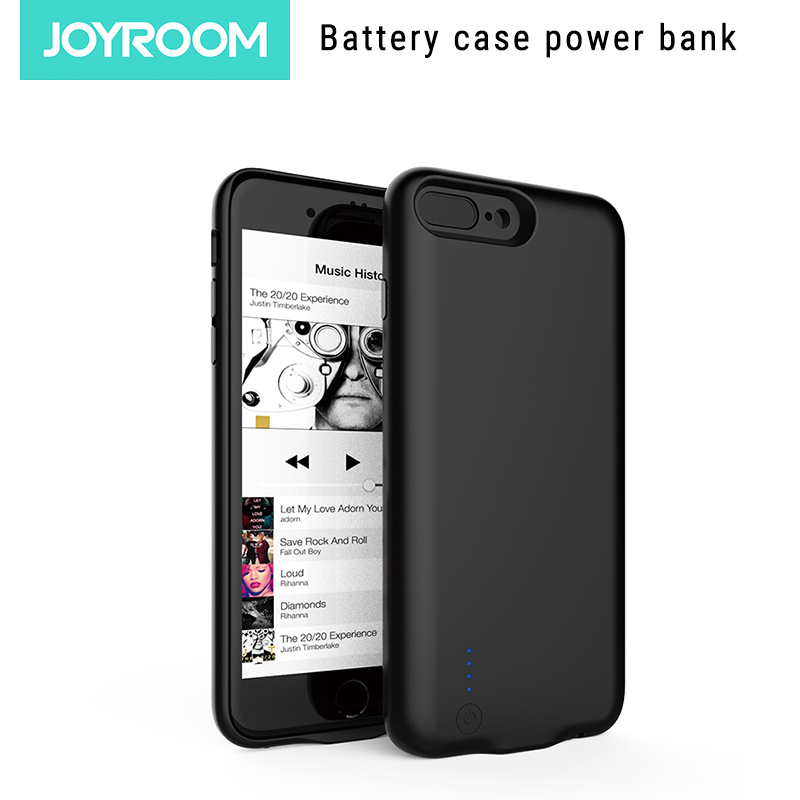 Joyroom Battery Case for iphone 6s 6 Plus Power Bank Battery Case For iphone 7 8 plus ultra thin portable Battery Charger Cases