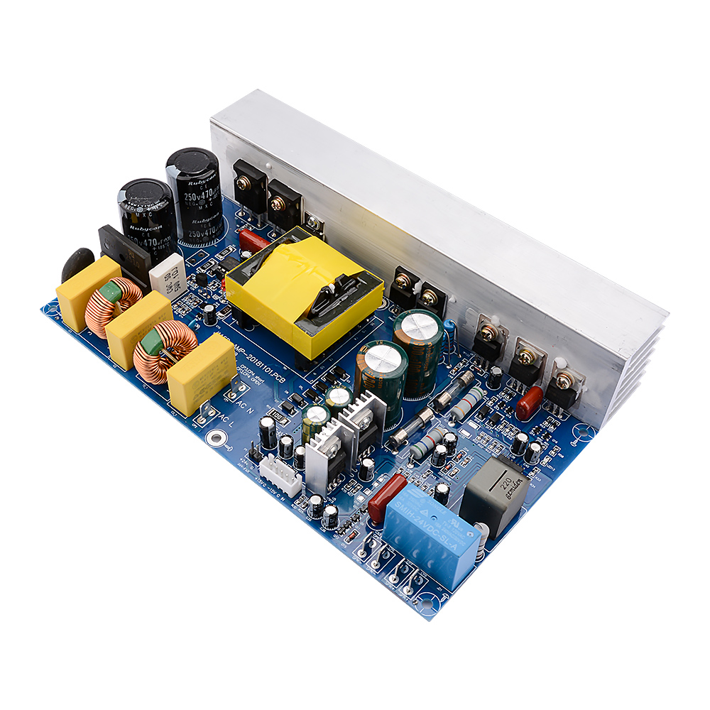 AIYIMA 1000W Mono Channel Class D High Power Digital Amplifier With Switching Power Supply Integrated Audio Board For Home DIY