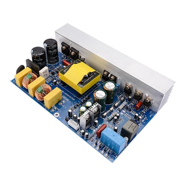 AIYIMA Amplificador Digital de alta potencia, 1000W, Mono canal, Clase D, con fuente de alimentación conmutada, tarjeta de Audio integrada para el hogar